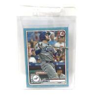 Max Muncy Los Angeles Dodgers 2020 MLB Batting Record Topps Card 004/499