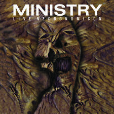Ministry Live Necronomicon (Gate) vinyl LP NEW sealed