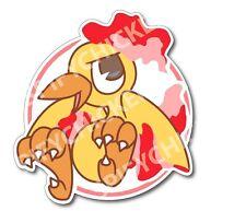 Pokemon GO Team Valor Moltres Vinyl Sticker Decal Parody Fanart