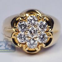 18K Yellow Gold Filled White Topaz Jewelry Wedding Engagement Ring Gift Sz5-10