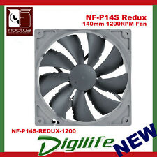 Noctua 140mm NF-P14S Redux Edition Square Frame 1200RPM Case Fan