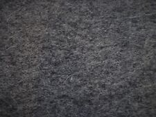 100% WOOL FELT 3mm FABRIC DARK GRAY 48