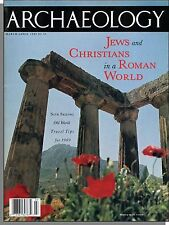 Archaeology - 1989, March - Jews and Christians in a Roman World, Early Greece