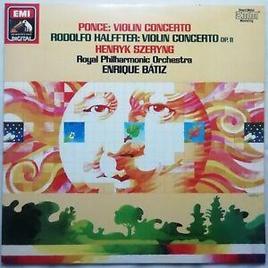 Ponce / Halffter: Violin Concertos / Szeryng / Bátiz / EMI LP EL 27 0151 1