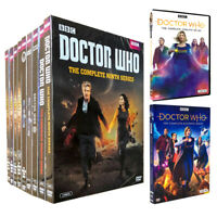 Doctor Who: Complete Series Season 1-12 DVD SET 61 Disc Fast Ship Priority Mail