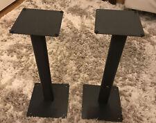 58cm Speaker Stands B&W DM12 DM602 DM601 Bowers Wilkins Black