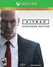 Hitman: The Complete First Season (Microsoft Xbox One, 2017) Steelbook Edition