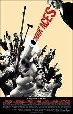 "Smokin Aces movie poster - Ben Affleck, Ryan Reynolds  - 11"" x 17"""