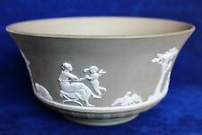 George Iv Period Grey-Taupe Colored Wedgwood Japer Bowl c. 1820