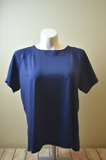 Susan Graver Navy Basic Blouse Women's Size XL