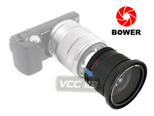 49mm Bower .42x Fisheye W/ Macro Lens 4 Sony Nex 3n a6000 a5100