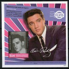 Grenadines Grenada 2016 MNH Elvis Presley Life in Stamps Meets Wife 1v S/S II