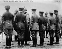 New 8x10 World War I Photo: Kaiser Wilhelm II Awarding Medals to Aviators, 1915