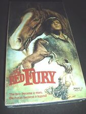 THE RED Fury The Boy Becomes a Man The Horse Became a Legend VHS NEW