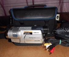 Sony handycam ccd-trv218e videocámara hi-8 8mm video - 8 analogue video camera top a