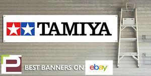Tamiya Banner for GARAGE or WORKSHOP Remote Control Car