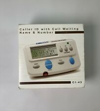 Bellsouth Caller ID With Call Waiting CI 43 - Open Box White 90 Caller ID Memory