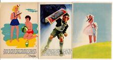 Federazione Fascista - Lotta Tubercolosi - 1 Boccasile - 3  cartoline -