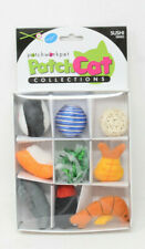 Patchwork Pet 9-Piece Sushi Themed Cat Toys