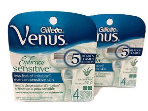 Gillette Venus Sensitive Embrace 08Cartridges