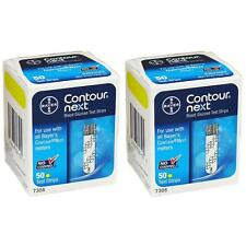 NEW Bayer 6TCBzb1 Contour-Next Blood Glucose Meter Test Strips 100ct No-Coding