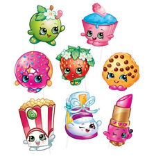8 Shopkins Birthday Party Photo Booth Props