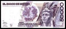El Banco de Mexico 50,000 Pesos 10-ENE-1990, Series FR.  P-93b2. AU