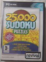 71857 - 25,000 Sudoku Puzzles - PC (2005) Windows XP REV082/D