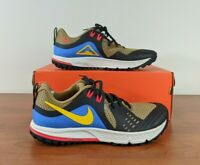 Nike Air Zoom Wildhorse 5 Men's Trail Running Shoes Tan Black AQ2222-200 Size 9