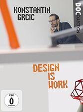KONSTANTIN GRCIC-DESIGN IS W - WETZEL.GEREON   DVD NEU