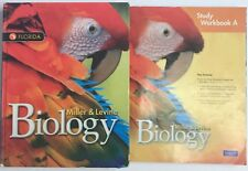 Miller Levine Biology Student Edition Textbook & Study Workbook Florida 2012