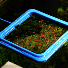 Aquarium Fish Food Tank Feeding Square Float Floating Food Fish Flakes Pellets