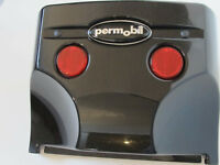 Permobil C300 - Rear Plastic Cover - Black - 313863-C - For Powerchairs