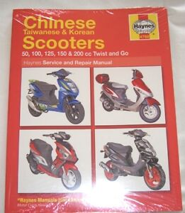 Haynes Workshop Manual Chinese Taiwanese Korean Scooters Kymco Lifan PGO Qingqi