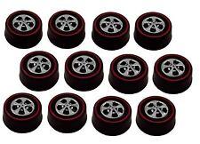 12 Brightvision Redline Wheels – 12 Medium Hong Kong Bearing Style