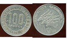 GABON 100 francs 1972   ( bis )