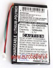 Batteria p GARMIN Nuvi 250 255W 255WT 252W 260 260W 270