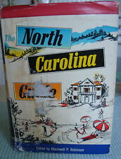 1955 The North Carolina Guide Signed by Sidney Blackmer, Blackwell P. Robinson