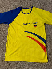 Ecuador Fef Futbol Soccer Official Jersey Mens Size Large/Medium