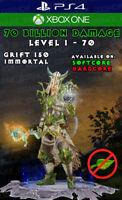 Diablo 3 - PS4 - XboxOne - Modded PRIMAL Typhon's Veil - New Wizard Set - 2.6.8