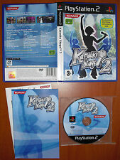 Karaoke Stage 2, KONAMI, PlayStation 2 PS2 PStwo, Pal-España ¡¡COMPLETO!!