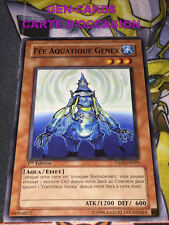 OCCASION Carte Yu Gi Oh FEE AQUATIQUE GENEX TSHD-FR091 1ère édition