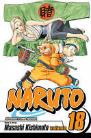 Naruto Vol 18 by Masashi Kishimoto 2007 VIZ Media Manga English