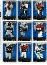 2001 Quantum Leaf rookie card lot (72 different) ---all rookie cards (Nice)