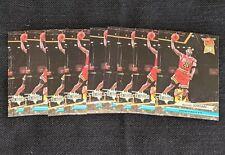 1992-93 Fleer Ultra Basketball MICHAEL JORDAN Card Lot (9) #216 Top Jammers