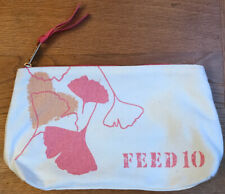 clarins make up bag Feed 10 Organic Canvas