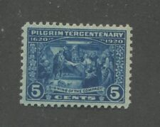 1920 US Postage Stamp #550 Mint Lightly Hinged Very Fine Original Gum