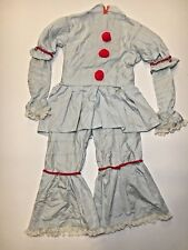 """IT"" PENNYWISE clown HALLOWEEN costume CUSTOM handmade KIDS large ADULT xs"