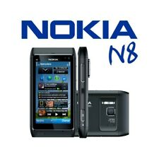 "Phone Mobile Phone Touch Screen Nokia N8 Black 3,5"" 0.1oz Wifi HDMI Photo Zeiss"