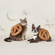 Pet Pretzel Costume Halloween Outfit Hyde and Eek Size Small Cat Dog Vest